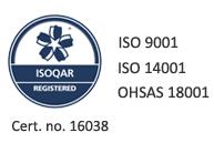 ISO QAR certificate
