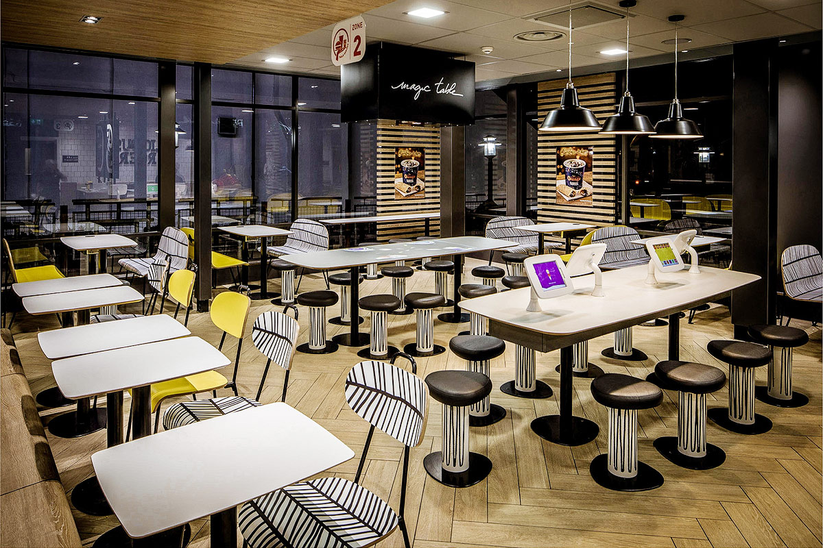 McDonald's restaurant fit-out