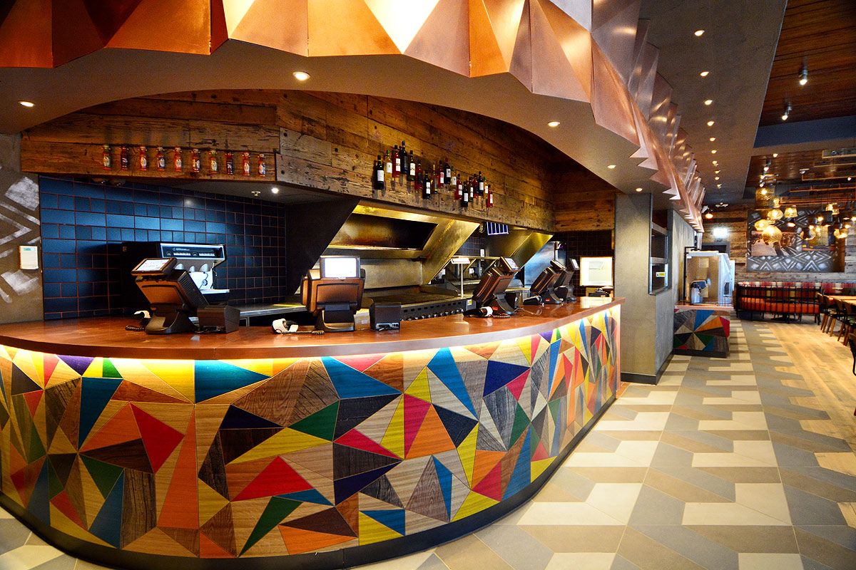 Nando's restaurant fit-out