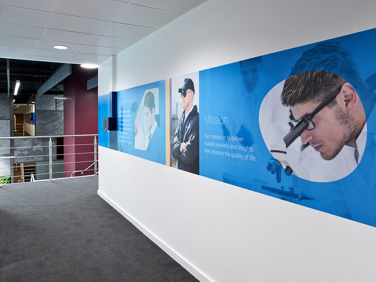 Agilent office fit-out.