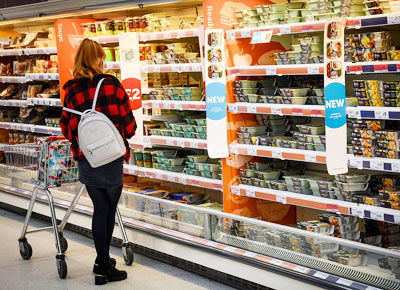 Supermarket food retail fit out